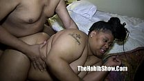 BBW first time amatuer gangbanged by monster di...