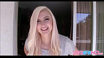 Blonde Teen Alexa Grace First Porn