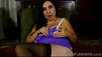 amy anderssen nude - super cute big boobs, belly and booty mature babe thumbnail