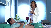 Dirty nurse Kiera Rose gets some big dick