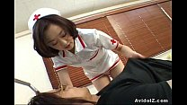 Sexy Japanese nurse gets fucked Uncensored