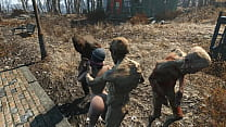 Fallout 4 Ghouls have their way