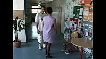 German Cleaning Woman get fucked by young guy