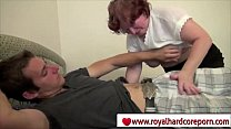 Desperate brunette old mom fucking her son - www.royalhardcoreporn.com