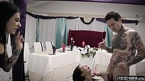 Vindictive stepsis is after brides guy