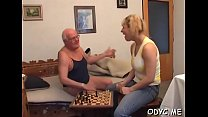 Stunning old and youthful act with hot babe seducing dad pornhub video