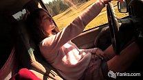Yanks Babe Chloe Randall Masturbates In The Car thumbnail