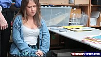 Oops Brooke Bliss got caught shoplyfting and ha...