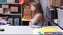 Oops Brooke Bliss got caught shoplyfting and have to pay the ultimate price Preview