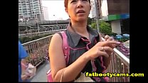 Thai Teen Picked up and Fucked Doggystyle - fatbootycams.com ภาพขนาดย่อ
