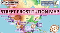 Vancouver  Street Prostitution Map  Sex Whores