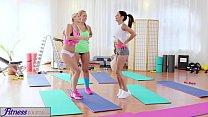 Fitness rooms big boobs lesbians have rampant gym threesome - (ray mattos) thumbnail