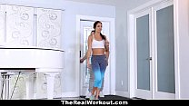 14505 TheRealWorkout - Hot Workout Teen Fucked After Session preview