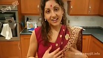 Young sister in law from Assam seduces brother in law on valentine's day in red saree POV Indian صورة