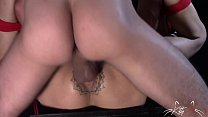 Kitty Jaguar got Tied up and used like an anal whore