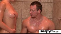 Erotic soapy massage with Happy Ending 4 pornhub video