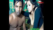 Cute Muslim Indian Girl Fucked By Husband On Webcam thumbnail