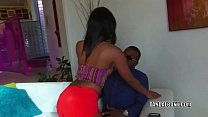 Black Coed Chanell Heart Takes A Big Cock In Her Twat
