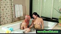 Blonde MILF Nuru Massage Turns into Blowjob 69 14 pornhub video