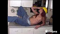 Handy Girl Victoria Gets Really Naughty In The Kitchen