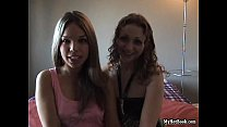 Angel and Channel were horny for each other  but t - Download mp4 XXX porn videos
