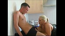 English Blonde Lets Decorator Shag Her Ass In The Kitchen - Boobsandtits.co.uk