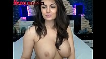 Webcam Girl Has Perfect Big Tits