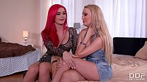 Big Tit Milfs Roxi Keogh And Amber Jayne's Deep... thumb
