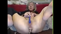 awesome milf squirts like crazy on webcam