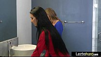 Lez Girls (Sydney Cole & Cyrstal Rae) Kiss Licks And Play In Hot Lesbo Sex Action Clip-26