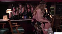 Only girl club in the '20 - Jenna Sativa, Eliza Jane, Ivy Wolfe porn thumbnail