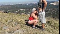 Gostosa fodendo com amante na montanha