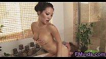 Asa Akira soapy play in the bathtub Thumbnail
