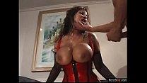 Busty Pornstar Ava Devine Takes On Two Cocks