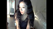 hot girl on camera korean