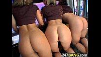 Ass and Titties On The  Party Bus Brianna Beach, Kodi & Samantha Sabadra.03