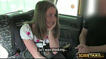 Hot Scarlet rides a cab and gets pounded hard i... thumb