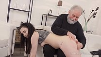 Old Goes Young - Cutie turns into a kitty to please an older man Preview