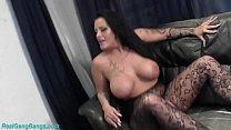 flexi gangbang babe Ashley Cum Star pornhub video