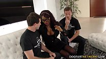 Ebony Jasmine Webb Fucks White Guys pornhub video