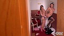 Hot maids Alessandra Jane & Ally Breelsen fill their pussies with sex toys Vorschaubild