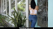 TeenCurves- Big Ass Lina Teases and Fucks Big Cock - 9Club.Top