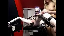 Teen girl bdsm gets machine , tasty body! Lesbi...