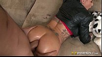 Bubble butt tattooed whore Christy Mack analyzed with big dick thumbnail