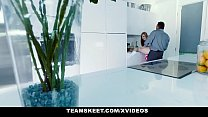 MyBabySittersClub - Babysitter Gets Hand Stuck In Sink and Fucked By Boss thumbnail