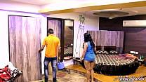 Indian Mona Bhabhi Teasing Room Service Boy In ...