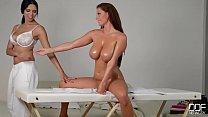 11097 Sheila Grant & Kira Queen XXX - the masseuse preview