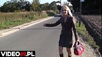 Polskie porno - Przyjemna podroż z nieznajomym