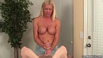 cumblast-Horny mature hottie gets splattered wi...