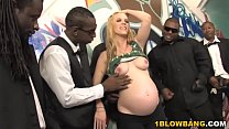 Pregnant Hydii May BBC Interracial Gangbang thumb